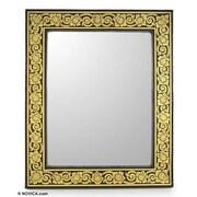 Novica Bouquet Wall Mirror