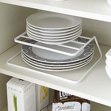 Yamazaki USA Tower Dish Storage Rack; White