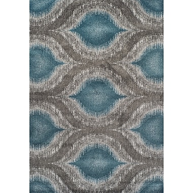Dalyn Rug Co. Modern Greys Dalyn Teal Area Rug; 7'10'' X 10'7''