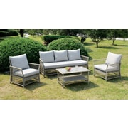 A&J Homes Studio Vera 4 Piece Sofa Seating Group w/ Cushion