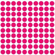 Innovative Stencils Polka Dot Wall Decal (Set of 100); Pink