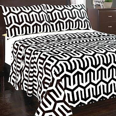 Tache Home Fashion Sophisticated Condo Flat Sheet Set; California King