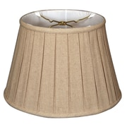 RoyalDesigns Timeless 16'' Linen Empire Lamp Shade; Cream