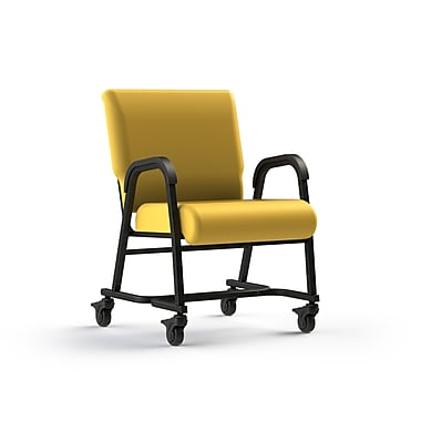 Comfor Tek Seating Mobility Assist 22'' Metal Arm Chair; Lemon