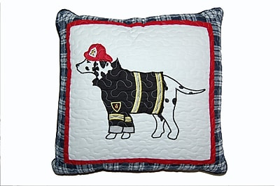 Cozy Line Home Fashion Dalmatian Fire Dog Decorative Cotton Throw Pillow
