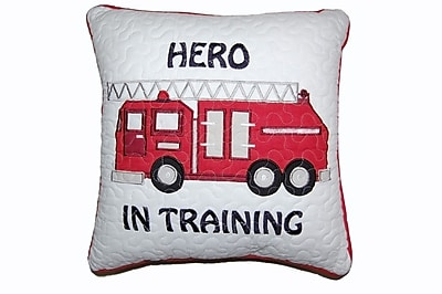 Cozy Line Home Fashion Hero in Training Decorative Cotton Throw Pillow