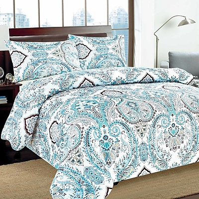 Tache Home Fashion Frozen Forest Duvet Cover Set; King