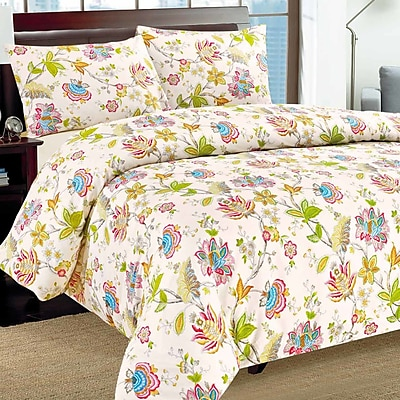 Tache Home Fashion Quiet Morning Garden Duvet Cover Set; California King