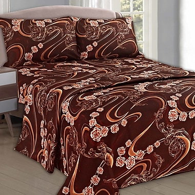 Tache Home Fashion Melted Sheet Set; Queen