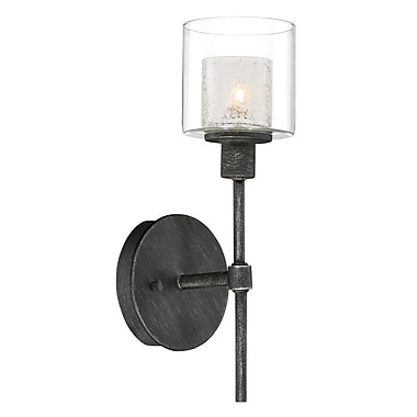 Designers Fountain Cazadero 1-Light Wall Sconce