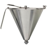 Linden Sweden Stainless Steel Confectionary Funnel; 9.25'' H x 7.5'' W x 7.25'' D