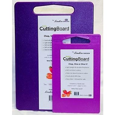 Linden Sweden 2 Piece Cutting Board Set; Purple