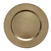 Woodland Imports Charger Plate (Set of 24); Gold