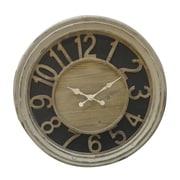 Woodland Imports Wooden Clock