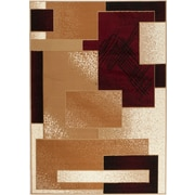 Rug and Decor Inc. Chateau Beige/Red Area Rug; 5' x 7'
