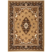 Rug and Decor Inc. Chateau Beige/Brown Area Rug; 5' x 7'