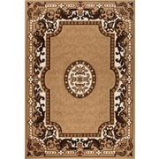 Rug and Decor Inc. Chateau Beige/Brown Area Rug; 1'10'' x 2'11''