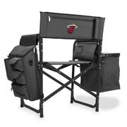 Picnic Time Fusion Chair; Miami Heat/Grey-Black