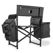 Picnic Time Fusion Chair; Minnesota Timberwolves/Grey-Black