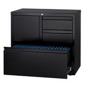 Hirsh Industries Personal 1 Door Storage Cabinet; Black