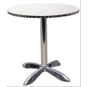 H&D Restaurant Supply, Inc. Dining Table; 27.5'' L x 27.5'' W
