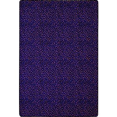 Joy Carpets Blue/Red Area Rug; Square 6'