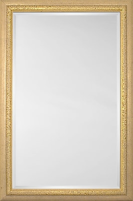Mirror Image Home Mirror Style 81131 - Gold '' Mesh''; 26.75'' H x 30.75'' W