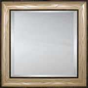 Mirror Image Home Mirror Style 81139 - Silver w/ Ivory; 28.5 x 40.5