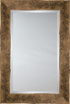 Mirror Image Home Mirror Style 81147 - Taupe '' Sack''; 46.75'' H x 66.75'' W