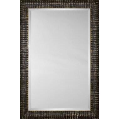 Mirror Image Home Mirror Style 81171 - Espresso Caterpillar; 26.75 x 30.75