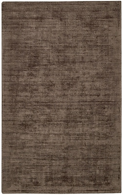 Capel Iceburg Hand Tufted Brown Area Rug; 5' x 8'