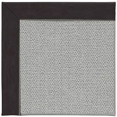 Capel Inspirit Silver Machine Tufted Black/Gray Area Rug; Square 4'