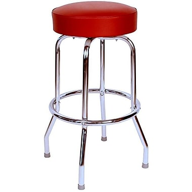 Richardson Seating Retro Home 30'' Swivel Bar Stool; Wine