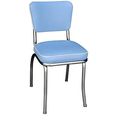 Richardson Seating Retro Home Side Chair; Bristol Blue