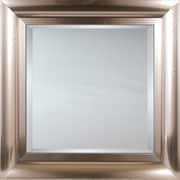 Mirror Image Home Mirror Style 81178 - Brushed Chrome Stainless; 30.25 x 42.25