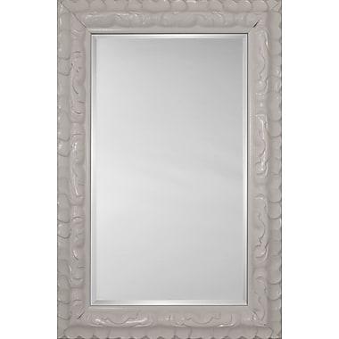 Mirror Image Home Mirror Style 81185 - White Glossy; 28.5 x 40.5