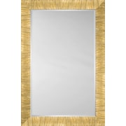 Mirror Image Home Mirror Style 81202 - Gold; 29 x 41