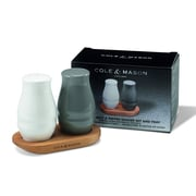 Cole & Mason 3 Piece Salt and Pepper Shaker Set