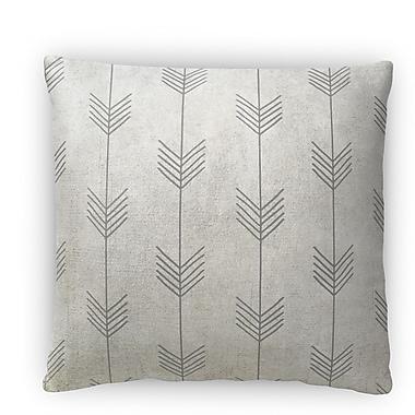 Kavka Afternoon Shower Fleece Throw Pillow; 18'' H x 18'' W x 4'' D