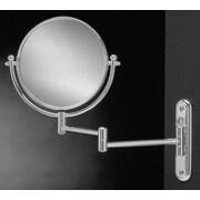 Wildon Home   Wall Mount Swinging Arm Mirror; Chrome