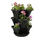 NaturesDistributingInc Self-Watering Hanging Planter; Black