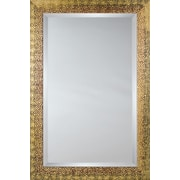 Mirror Image Home Mirror Style 81029 - Silver-Black Melted Pebble; 29 x 41