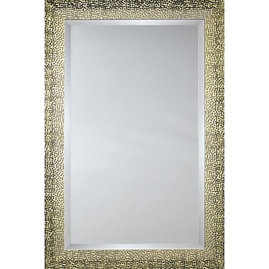 Mirror Image Home Mirror Style 81030 - Bronze-Gold Melted Pebble; 29 x 41
