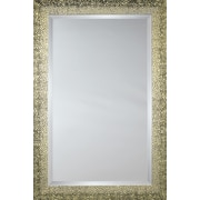 Mirror Image Home Mirror Style 81030 - Bronze-Gold Melted Pebble; 27 x 31