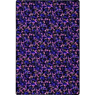 Joy Carpets Pink/Blue Area Rug; 12' x 18'
