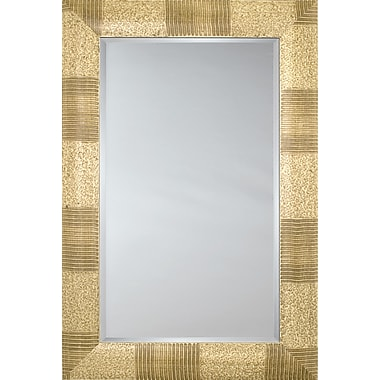 Mirror Image Home Mirror Style 81116 - Ivory Camouflage; 28.5 x 32.5