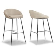 Glamour Home Decor 29.5'' Bar Stool (Set of 2)