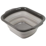 Squish Collapsible Dish Pan; Gray