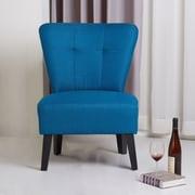 Porter International Designs Maddie Modern Contemporary Slipper Chair; Blue