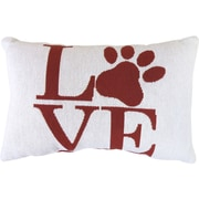 Park B Smith Ltd Vintage House Love Paw Tapestry Decorative Lumbar Pillow